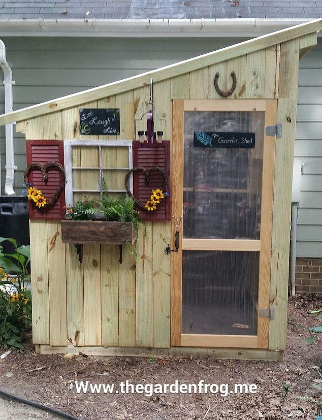 DIY Garden Shed from Picket Fence | Hometalk