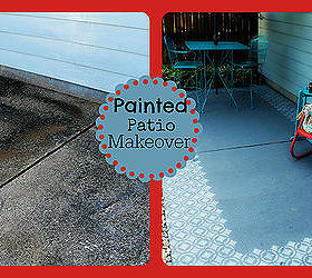 Patio Ideas Painted Floor Makeover, Flooring, Outdoor Living, Painted  Furniture, Painting,