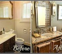 small bath remodels elegant glamour, bathroom ideas, small bathroom ideas