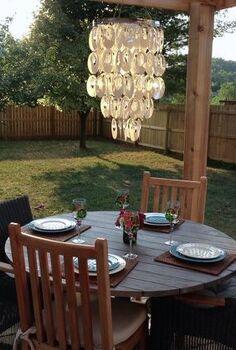 outdoor space, decks, outdoor furniture, outdoor living, painted furniture