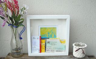 diy memory box ikea tutorial, crafts, how to