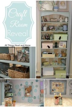 craft room office makeover, craft rooms, home office