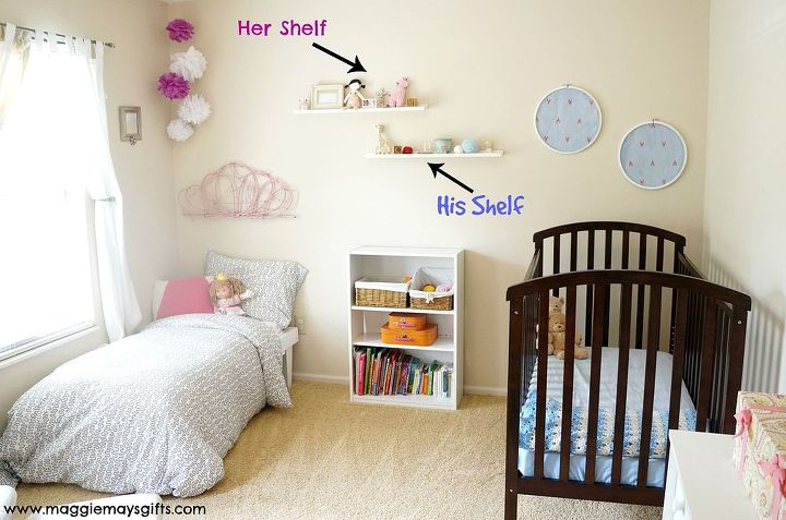 bedroom ideas combining boys girls rooms, bedroom ideas, wall decor. Each  gets his and her ... - Combining Boys And Girls Rooms Hometalk
