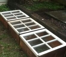 cold frames, repurposing upcycling, woodworking projects, Beautiful cold frames
