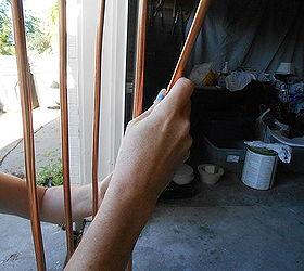 DIY Copper Garden Art From Copper Tubing Hometalk