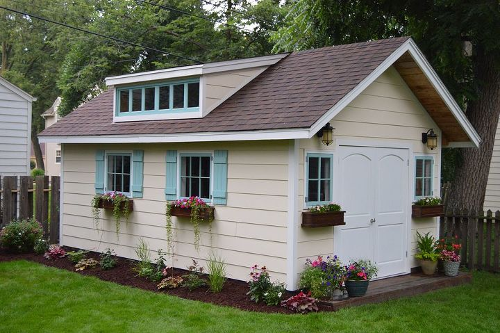 Transformed Backyard Workshop Hometalk