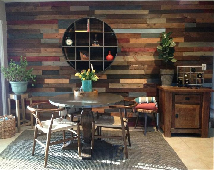 Pallet WallReclaimed Wood Hometalk