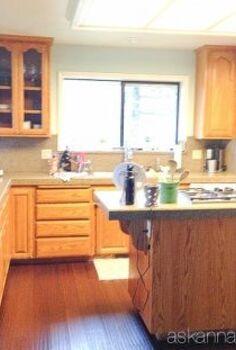 black and white kitchen makeover reveal, diy, home improvement, kitchen cabinets, kitchen design, kitchen island, painting
