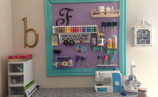 organizing craft room pegboard framed craft rooms diy organizing woodworking projects southern couture