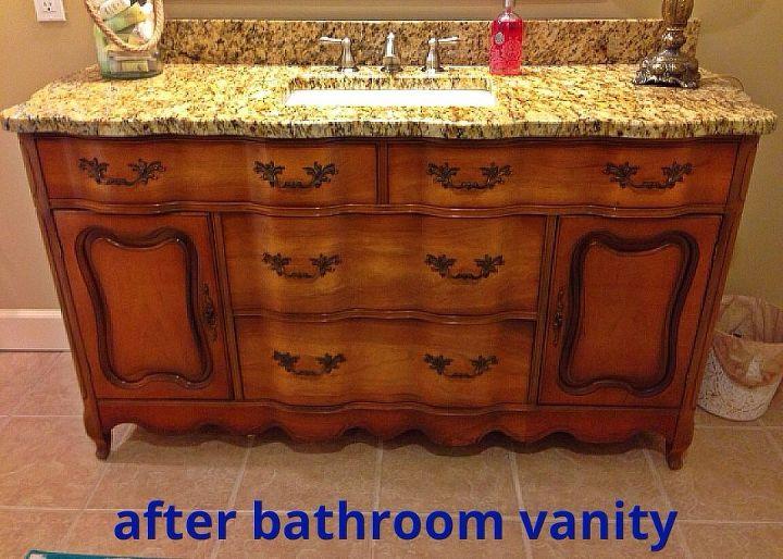 Turning A Buffet Into A Bathroom Vanity Hometalk