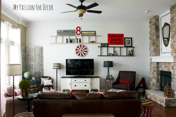 Family Room Ideas Plank Wall Update Diy Home Decor Living