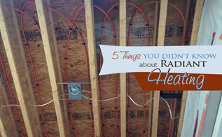 home renovation radiant heating, hvac