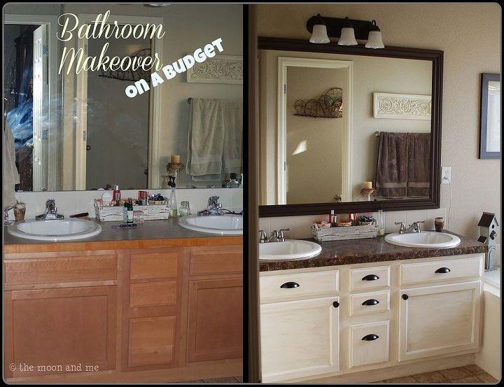 bathroom redo master mini makeover budget bathroom ideas home decor