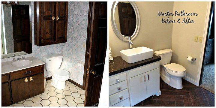 Angies Bathroom Before Before And After Small Bathroom
