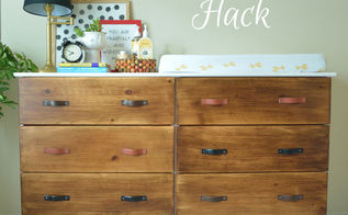 ikea hack tarva dresser, painted furniture, repurposing upcycling