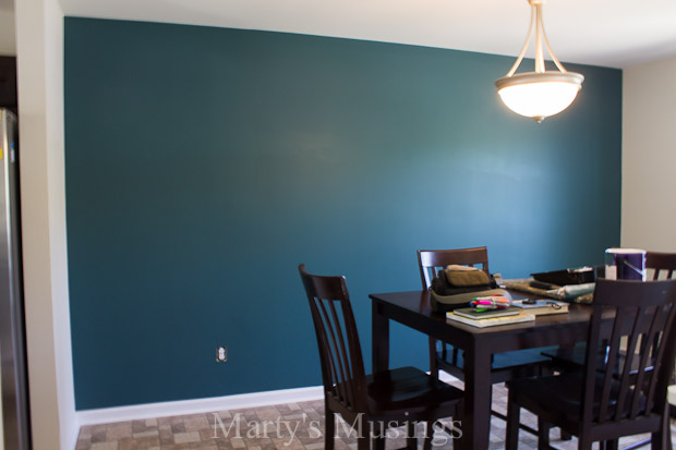 Accent Wall Paint Decor Transforming Dining Room Ideas Home Painting