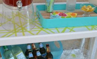 changing table beverage station upcycle outdoor, outdoor furniture, outdoor living, painted furniture, repurposing upcycling