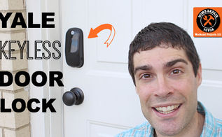 yale digital door lock review touchscreen keyless, doors, home maintenance repairs, how to
