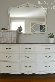White Painted Furniture Idea Box by Stacey Embracing