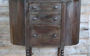 martha washington sewing table, decoupage, diy, painted furniture, repurposing upcycling