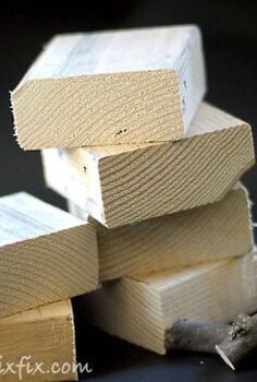scrap lumber block pumpkins, crafts, seasonal holiday decor, woodworking projects