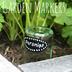 diy upcycled glass bottle garden markers, crafts, diy, gardening, repurposing upcycling