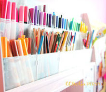 crafts upcycling repurpose marker holder organizer, crafts, organizing, repurposing upcycling