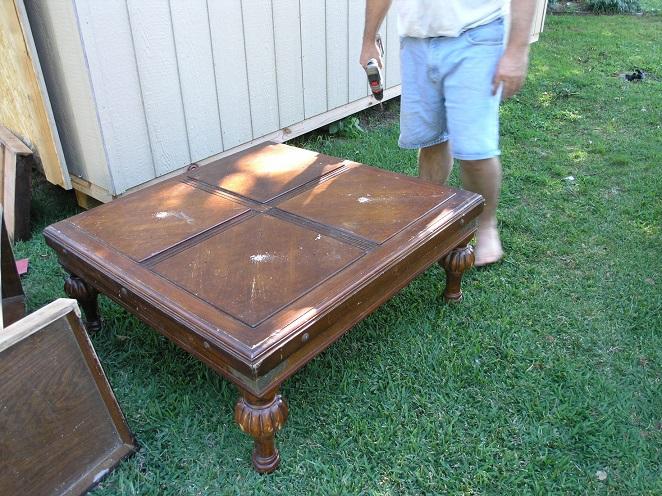 repurposed coffee table, painted furniture - Repurposed Coffee Table Hometalk