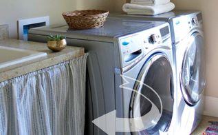 laundry room decor modern stylish, laundry rooms, organizing
