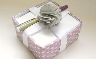 diy note pad holder tissue box kleenex repurpose, crafts, repurposing upcycling