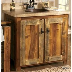 Innovative Pallet Vanity Pallet Dresser Rustic Vanity Bunkhouse Bathroom Vanities