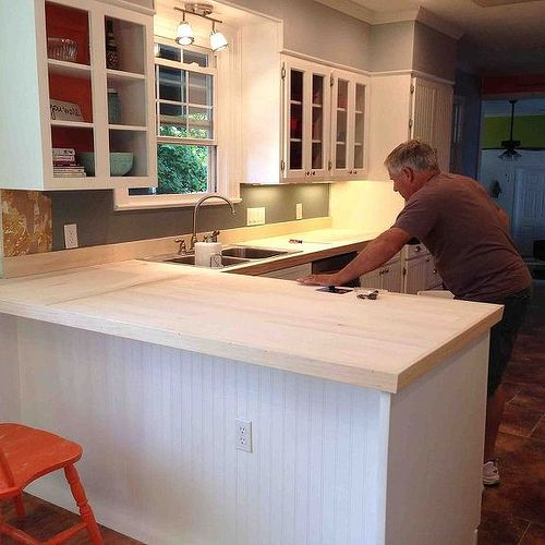redoing kitchen counters | hometalk