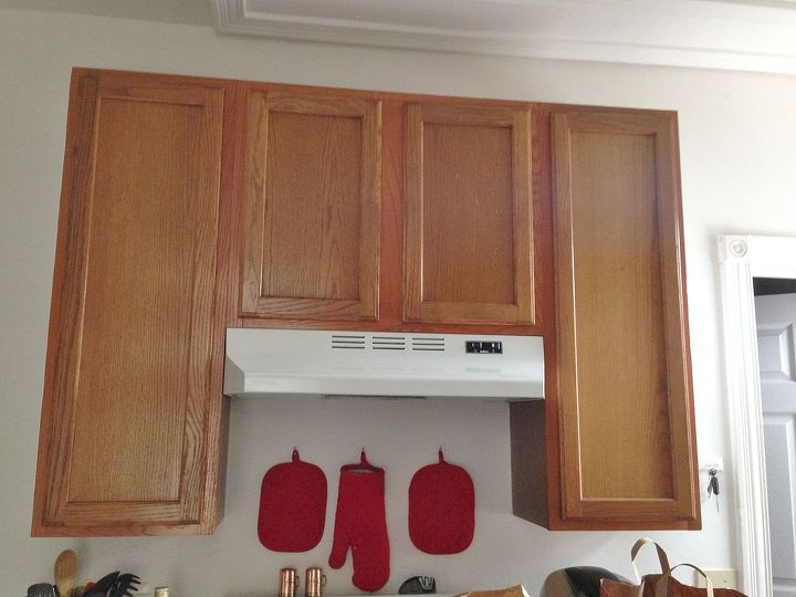 Before after 387 budget kitchen update hometalk for Cheap diy kitchen cabinets
