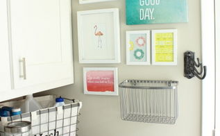 laundry room makeover wood cabinet tutorial, diy, how to, kitchen cabinets, laundry rooms