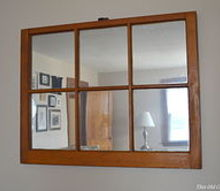 diy window pane mirror upcycle rustoleum budget, diy, home decor, painting, repurposing upcycling, wall decor, windows