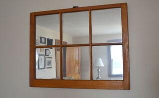 diy window pane mirror upcycle rustoleum budget, diy, home decor, painting, repurposing upcycling, wall decor, windows