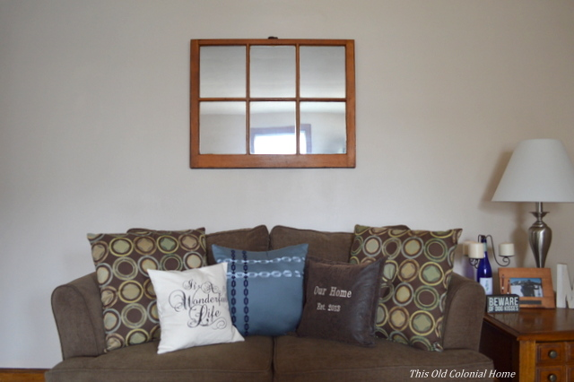 DIY Window Pane Mirror For Less Than $20   Hometalk