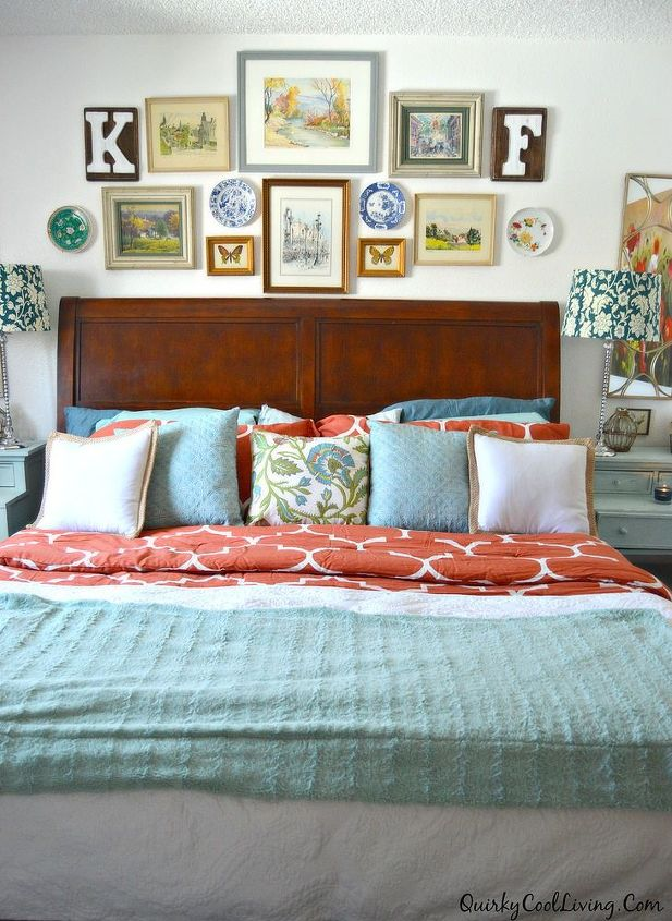 Quirky Bedroom Furniture An Eclectic Cottage Bedroom Makeover Hometalk