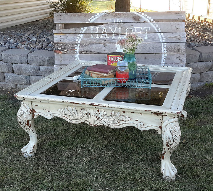 Shabby Chic Corner Coffee Table: Shabby Chic Coffee Table Paint Redo