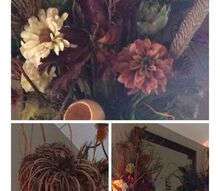 fall floral mantel arrangements budget hobby lobby, fireplaces mantels, home decor