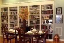 ikea hack, dining room ideas, home decor, shelving ideas, wall decor