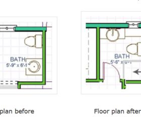 Powder Room Becomes Full Bath Redo Hometalk