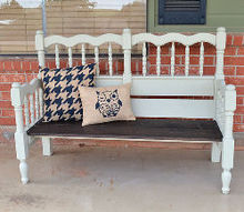 woodworking bench bed headboard tutorial, diy, how to, outdoor furniture, repurposing upcycling, woodworking projects