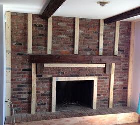 Cottage Chic Fireplace Redo   Hometalk