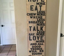 wall art sign decorative meaning sayings easy, crafts, diy, home decor, wall decor, woodworking projects