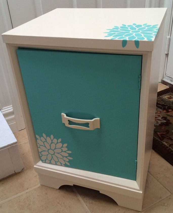 Painted Furniture Nightstand Desk Girls Bedroom Custom Bedroom Ideas Painted Furniture