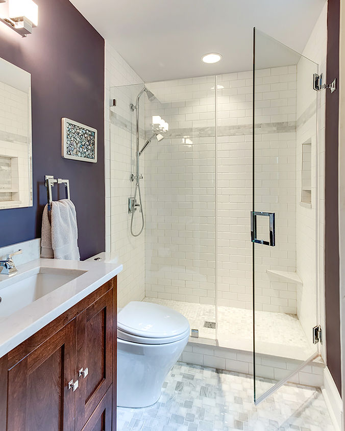 Modern Bathroom Update Before After Bathroom Ideas Home Improvement Small Bathroom Ideas