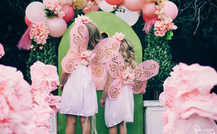fairy tea party decor budget dollar store, crafts, Afforable DIY projects for a fairy party