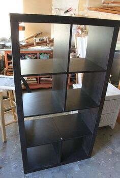 turn old bookshelf into rolling kitchen island, diy, painted furniture, repurposing upcycling, shelving ideas, storage ideas, woodworking projects