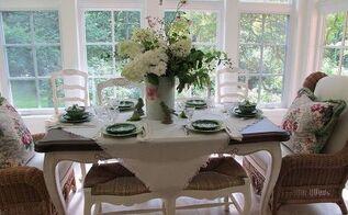 country kitchen decor chic tablescape details, kitchen design